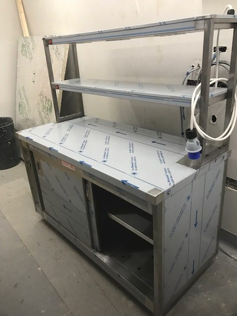 commercial kitchen unit