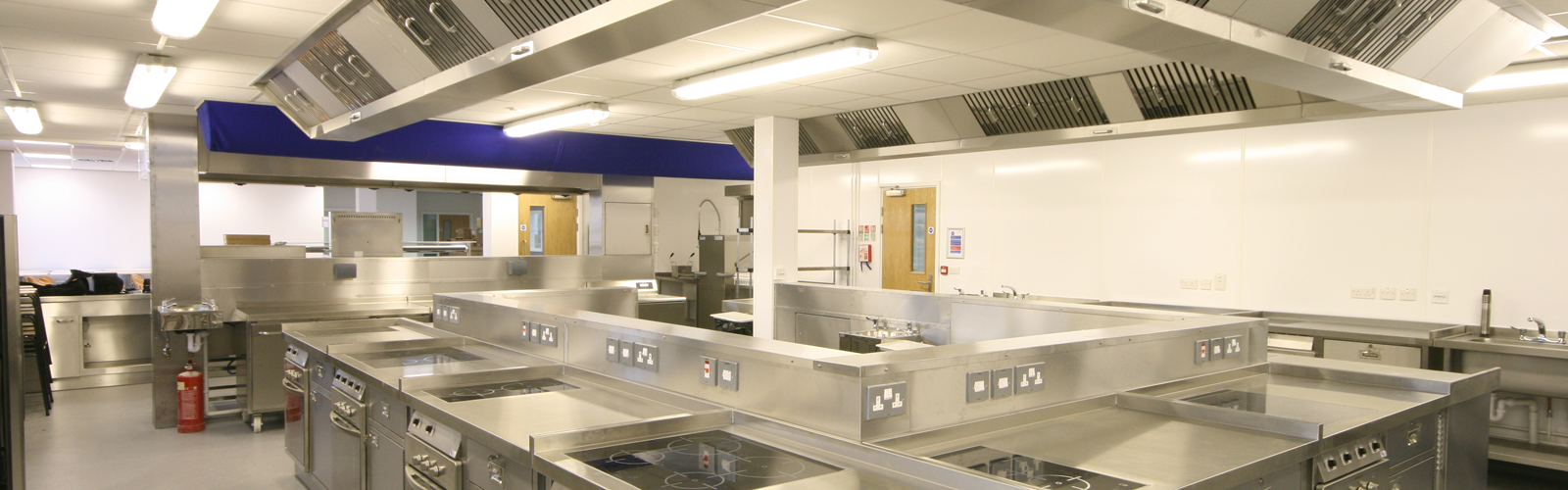 College Training Commercial Kitchen