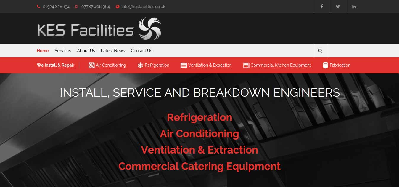 kes new website